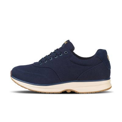 Bronze Canvas Dark Navy/Gum | gaitline.com