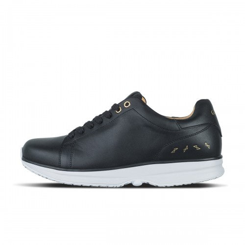 Modesto Low Mens - Black/Gold