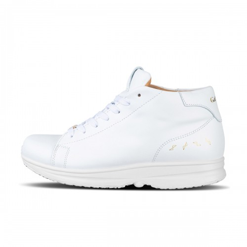 Modesto Mid Mens - White/Gold