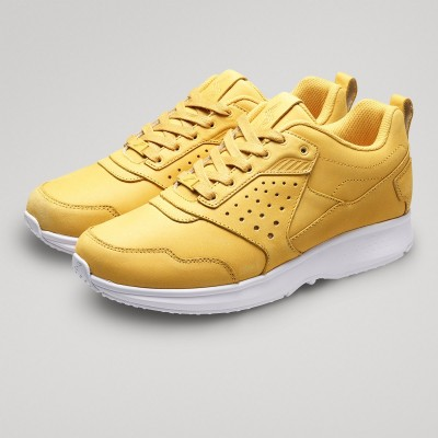 Float Lthr - Yellow/White | GaitLine.com