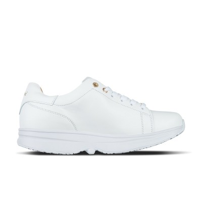 GaitLine.com | Modesto Low Wmns - White/Gold