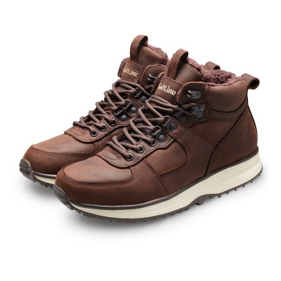 Silver Mid Trek WR - Dakar Brown | GaitLine.com
