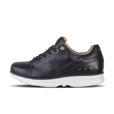 GaitLine.com | Modesto Low Wmns - Black/Gold