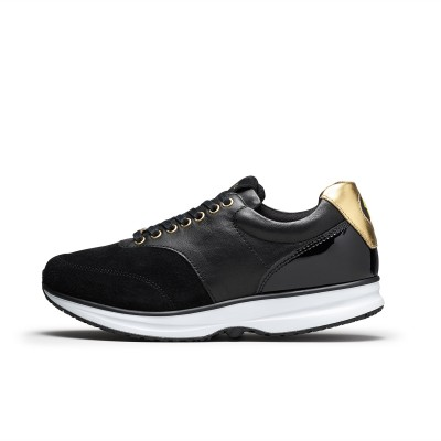 Bronze CL Lthr PR - Black/Gold | GaitLine.com