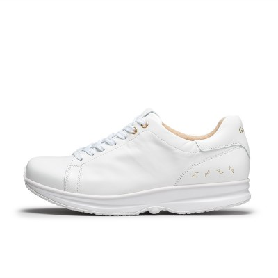 Modesto Low Mens - White/Gold | GaitLine.com