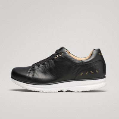 Modesto Low Mens - Black/Gold GaitLine.com