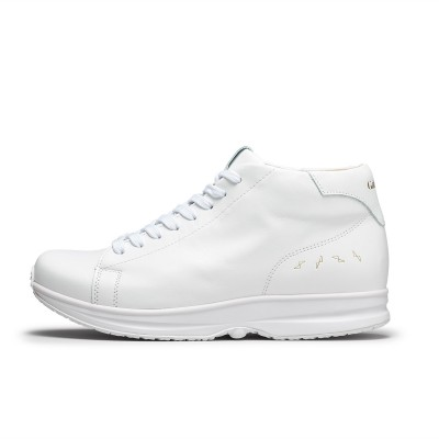 Modesto Mid Mens - White/Gold | GaitLine.com