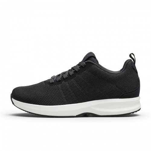 Track Knit - Black/White