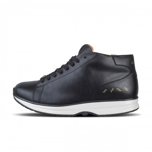 Modesto Mid Mens - Black/Gold