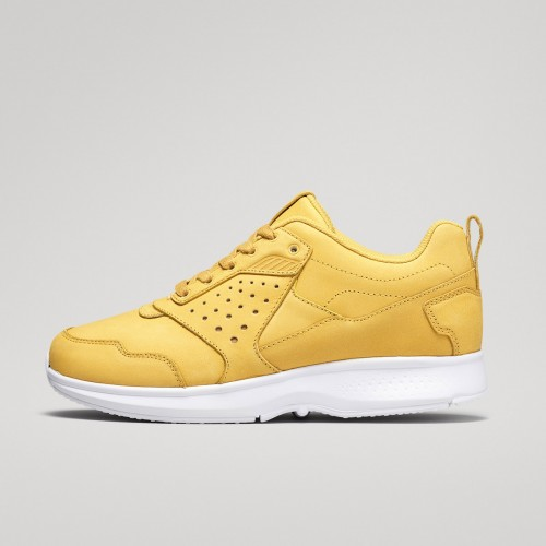 Float Lthr - Yellow/White
