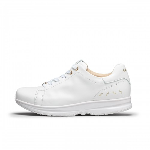 Modesto Low Wmns - White/Gold